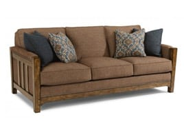 Flexsteel Stationary Sofa Sonora