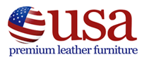 USA Premium leather furniture Logo